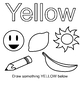 My Color Book : Learn the colors with coloring and writing