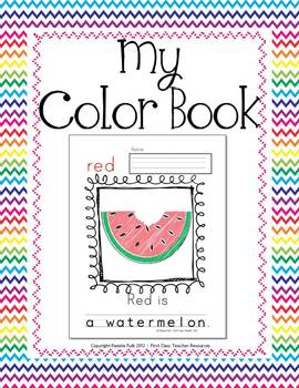 My Color Book - A Writing and Art Activity