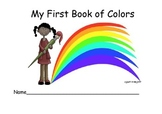 My First Book of Colors - Writing for Beginners