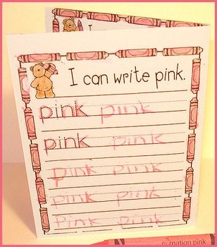 My Color Books Learning Activity Download