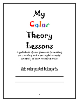 Elements of Art: My Color Theory Lessons!