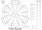My Color Wheel Worksheet