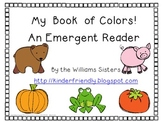 My Color Word Book ~ An Emergent Reader Freebie
