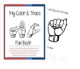My Color and Trace Fun Book