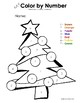 My Color by Letter AND Number Christmas Tree - Winter/Christmas - BUNDLE PACK