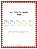 My Colorful Apples Reproducible Book