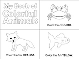 My Colorful Book of Animals