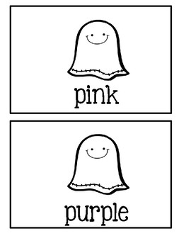 My Colorful Ghosts