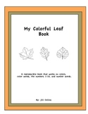 My Colorful Leaf Book - Reproducible