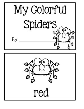 My Colorful Spiders
