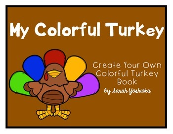 My Colorful Turkey - FREEBIE