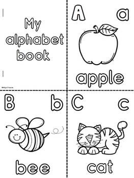 My ABC Coloring Book-English by Bilingual Treasures | TpT
