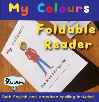 'My Colors' foldable book
