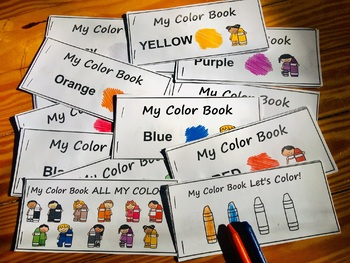 My Colors Books, Autism, ABA