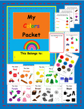 My Colors Packet