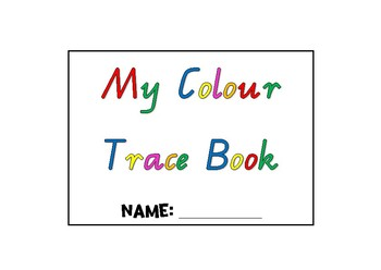 My Colour Trace Book