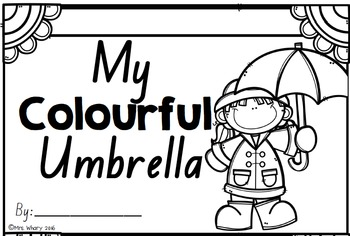 My Colourful Umbrella (NSW Font)