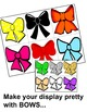 My Colours/Colors-Banner and Bows WordWall Display-English