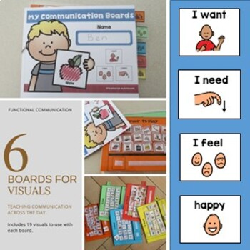 Communication Book for Autism/Special needs