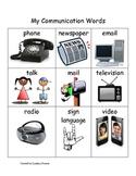My Communication Words