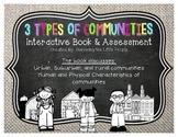 My Communities Interactive Book: Urban, Suburban, Rural Co