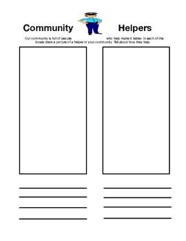 My Community Social Studies Unit