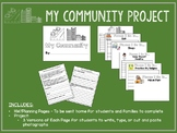 My Community A Social Studies Project for Special Ed