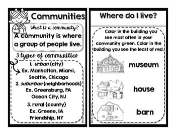 Part of MY Community {A Social Studies Decodable Book}