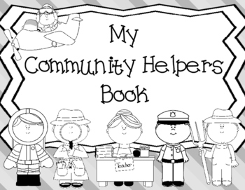 My Community Helpers Book