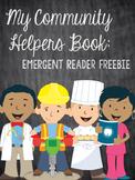My Community Helpers Book: Emergent Reader Freebie