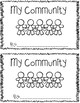 My Community Mini-Book