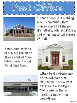 My Community Places; Post Office
