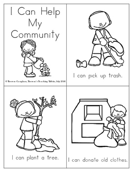 My Community Poems and Activities