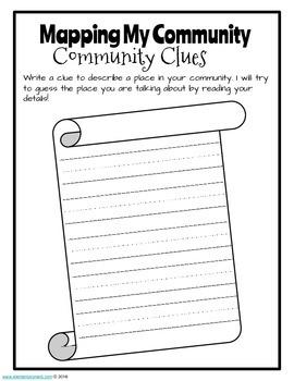My Community - Supplemental Activity