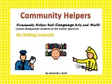 My Community Unit (Language Arts and Math) - Autism