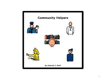 My Community Unit (Language Arts and Math) - Autism