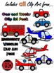 My Community: Vehicles and Transportation Clip Art Bundle