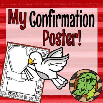 My Confirmation Poster