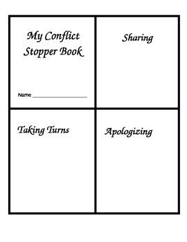 My Conflict Stopper Book