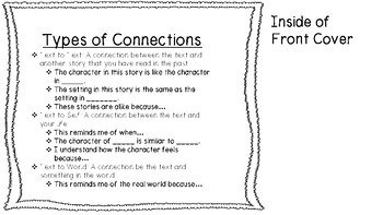 My Connections Booklet