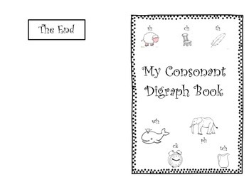 My Consonant Digraph Book