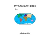 My Continent Book