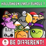 My Cool Emoji Halloween Clipart (Bundle)