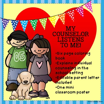 I My Counselor Listens-Learn About Individual Counseling