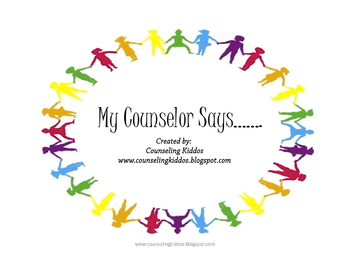 My Counselor Says....