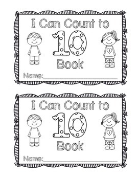 My Count to 10 Book