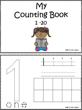 My Countig Book to 20
