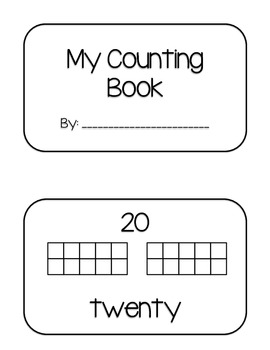 My Counting Book 0-20