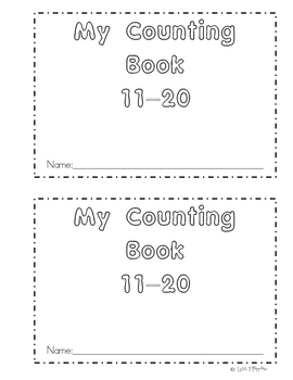 My Counting Book 11-20