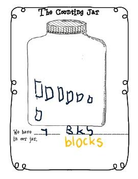My Counting Book Journal K.CC.4, K.CC.5, K.OA.1, K.OA.2